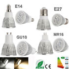 Ultra Bright CREE MR16/GU10/E27/E14 9W 12W 15W Dimmable LED Spotlight Bulbs