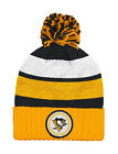 Mitchell & Ness NHL Beanie Pittsburgh Penguins Black/Gold Quilted Pom Knit Hat