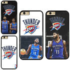 Oklahoma City Thunder Paul George Plastic Phone Case Cover For iPhone / Samsung