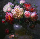Best gift Art Impressionism Flowers oil painting HD Print on canvas Home Decor