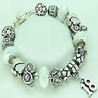 Womens Bracelet White Beads 16th 18th 21st 40th 50th 60 BIRTHDAY Jewellery Gifts