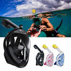 Breather Full Face Snorkeling Mask Scuba Diving Swimming Snorkel for Gopro&Gift