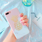 Pineapple marble TPU Phone cases For iPhone 6 6plus 7 7plus phone back cover
