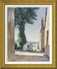 atkinson page - 'Waiting For The Ferry' by William Page Atkinson Wells Framed Painting Print