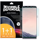 Galaxy S8 Screen Protector, Invisible Defender [Full Coverage] [2-Pack] Film