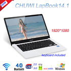 CHUWI Hi10/HiBook Pro/Vi10 Plus/Hi12/Hi13/LapBook 4GB/64GB Tablet PC Intel DE