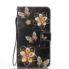 Fashion Leather Stand Card Slot Wallet Case Flip Cover Lanyard For LG Aristo LV3