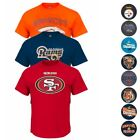 NFL Assortment of Team Color Graphic T-Shirt Collection for Men by Majestic $11.19 USD on eBay