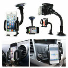 360° Universal in Car Windscreen Dashboard Holder Mount For GPS Mobile Phone UK