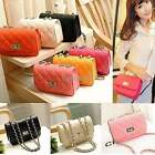 Vintage Women PU Leather Satchel Handbag Shoulder Tote Messenger Crossbody Bag T