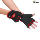 JBM Cycling Gloves Mountain Bike Gloves Fingerless Hand Protector Breathable