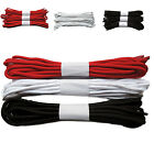 Pack of 3 Pairs Strong Long Round Boot Shoe Laces Red White Black 10-30 Hole