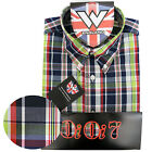 Warrior UK England Button Down Shirt CRAIG Slim-Fit Skinhead Mod Retro