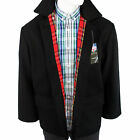 Warrior England Donkey Jacket Coat Winter Mantel Tartan Jacke Skinhead Punk Mod