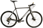 STRADALLI CARBON FIBER FITNESS HYBRID ROAD CITY BIKE DISC BRAKE SHIMANO XT 8000
