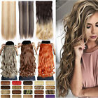 AU 100% Long Real Thick One Piece Full Head Clip in As Human Hair Extensions Fh4