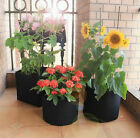5 7 10 15 25 30 45 65 100Gallon 3/6/12/24-Pack Fabric Grow Pot for Plant Growing