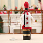 Red Wine Bottle Cover Bags Christmas Dinner Table Decoration Party Supplies