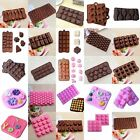 25 Shapes Silicone Cake Decorating Moulds Candy Cookies Chocolate Baking Mold