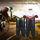 Arsuxeo Men Cycling Clothing Riding Padded Shorts Bicycle Wear Jersey Sets U9U2