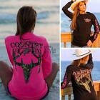 Women Fashion O-Neck Long Sleeve Letter Print Pullover Casual T-Shirt TXST