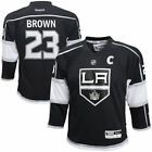 Dustin Brown Los Angeles Kings Reebok Youth Replica Player Hockey Jersey Black