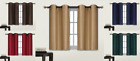Kyпить 2 SMALL SHORT GROMMET PANEL LINED BLACKOUT WINDOW CURTAIN TREATMENT DRAPE D24 на еВаy.соm