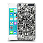 CUSTOM CUSTOMISED PERSONALISED MANDALA DOODLES CASE FOR APPLE iPOD TOUCH MP3