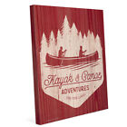 'Kayak and Canoe Adventures - Warm' Canvas Wall Graphic
