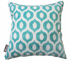 """OUTDOOR INDOOR THROW CUSHION COVER VROOM SKY BLUE CONTEMPORARY PILLOW 18"""" SALE"""