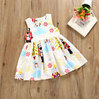 US Stock Toddler Kids Baby Girls Christmas Princess Dress Girls Outfits Clothes