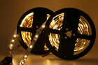 150/300 LEDs Lights 5050 SMD LED Strip Bar Party Car Decor Lamp 5M 12V White/RGB