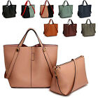 Women Large Tote Shopper Bag Ladies Cross Body College Weekend Shoulder Handbags