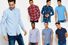 New Mens Superdry Shirts Selection - Various Styles & Colours 3008