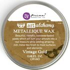 Finnabair Art Alchemy Prima METALLIQUE WAX .68 oz ALTERED - CHOOSE From 8 COLORS
