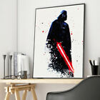 Watercolor Star Wars Darth Vader Movie Canvas Poster Art Print Wall Home Decor $7.9 CAD on eBay