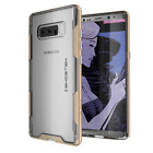 Galaxy Note 8 Case | Ghostek CLOAK Slim Clear Shockproof with Wireless Charging