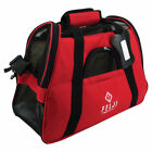Pet Carrier Cat Dog Airline Approved Fleece Bag Small Blue Red