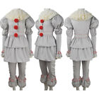 Kids boys It 2017 film Pennywise the Dancing Clown cosplay costume X'mas gift