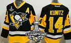 Pittsburgh Penguins 14 Chris Kunitz Black Third 2017 Stanley Cup Champs Jersey