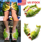 US Unisex Fish Beach Slippers Mens Breathable Summer Womens Sandals  Flip Flops