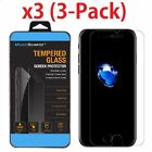 3-Pack For iPhone 6 6s 7 8 Plus X Xs Max XR Tempered GLASS Screen Protector  <br/> 3D Touch Support / Ultra Thin 2.5D Rounded Edge US Ship