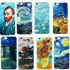 Ultra Slim Pattern Rubber Soft TPU Back Case Cover for iPhone 5 6 7 Plus Samsung