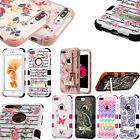 For iPhone 8 & 8 PLUS Rubber IMPACT TUFF Hybrid KICKSTAND Hard Case Phone Cover