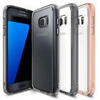 Galaxy S7 Case, Ringke [FUSION] Raised Bezel Shockproof Protective Clear Cover