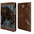 CHRISTOS KARAPANOS HORROR 3 LEATHER BOOK WALLET CASE FOR SAMSUNG GALAXY TABLETS