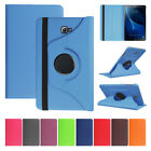 For Samsung Galaxy Tab S Series 8 8.4 9.7 10.5 Rotating Leather Case Stand Cover
