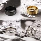 New Mens Titanium Wedding Engagement Comfort Fit Band Ring