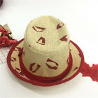 Baby Girls Boys Children Cap Summer Beach Sun Straw Floppy Derby Hat Headwear