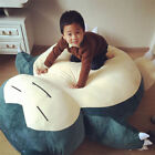 "79""/ 2M & 59""/1.5M Pokemon Snorlax Plush Kabigon Doll Filled Bed Gift Only Cover"